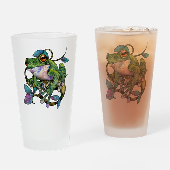 Wild Frog Drinking Glass