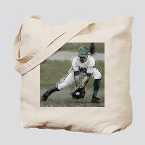 Stopping a Ground Ball  Tote Bag