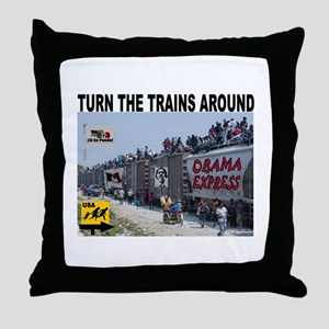 ILLEGAL EXPRESS Throw Pillow