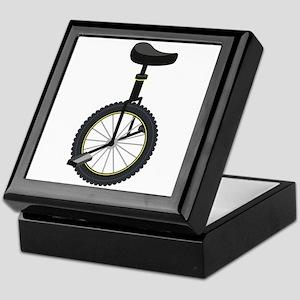 Unicycle Keepsake Box