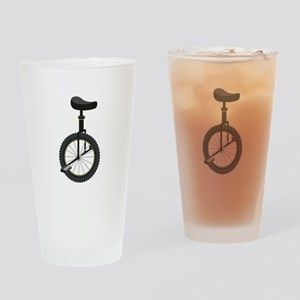 Unicycle Drinking Glass