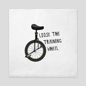 Loose The Training Wheel Queen Duvet