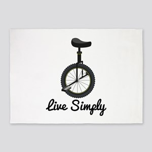 Live Simply 5'x7'Area Rug