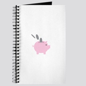 Coin in the Piggy Journal