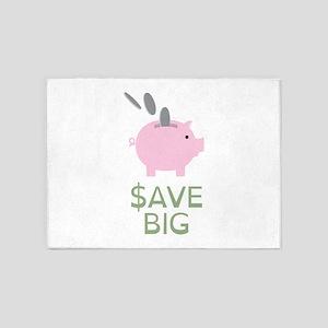 Save Big 5'x7'Area Rug