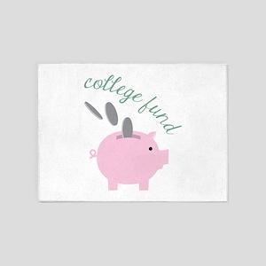 College Fund 5'x7'Area Rug