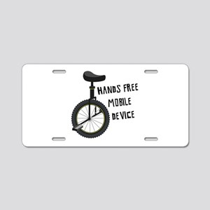 Hands Free Mobile Device Aluminum License Plate