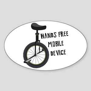 Hands Free Mobile Device Sticker