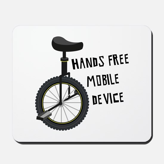 Hands Free Mobile Device Mousepad