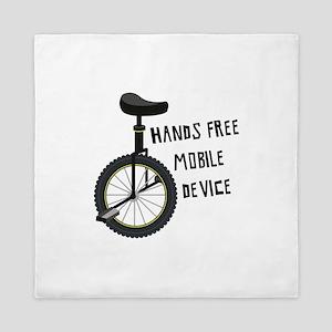 Hands Free Mobile Device Queen Duvet