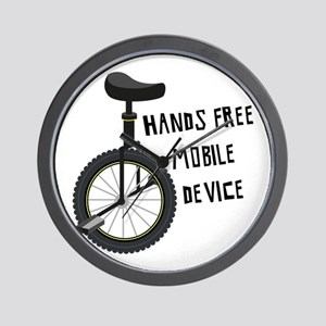 Hands Free Mobile Device Wall Clock