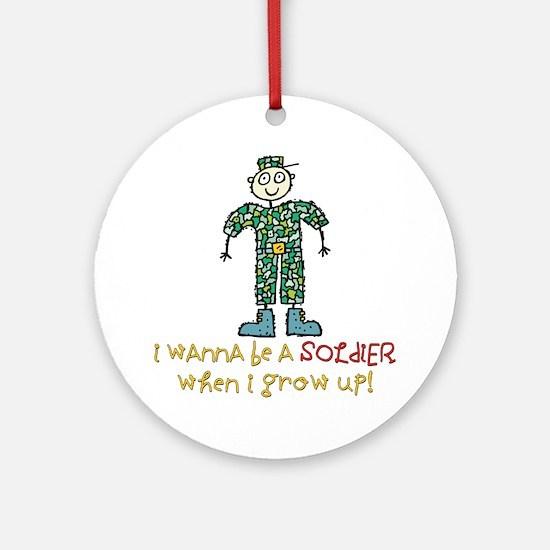 Future Soldier Ornament (Round)
