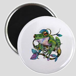 Wild Frog Magnet