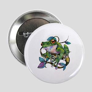 """Wild Frog 2.25"""" Button"""