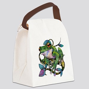 Wild Frog Canvas Lunch Bag