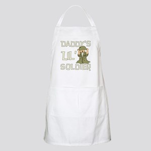 Daddy's Lil' Soldier BBQ Apron