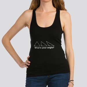 What's your angle? Racerback Tank Top