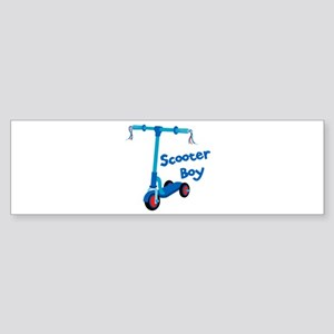 Scooter Boy Bumper Sticker