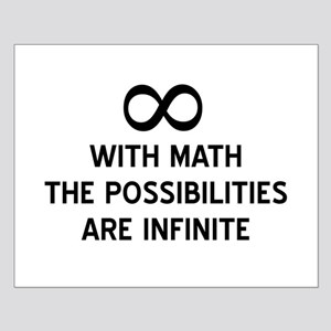 Math infinite possibilities Posters