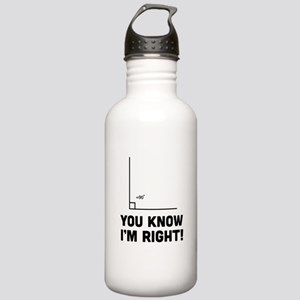 You know i'm right Water Bottle