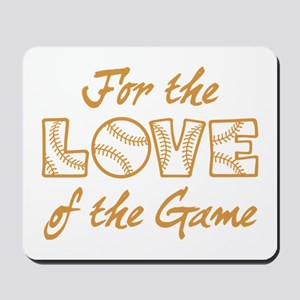 For the Love Mousepad
