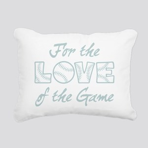For the Love Rectangular Canvas Pillow