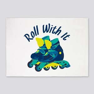 Roll With It 5'x7'Area Rug