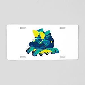 Roller Blades Aluminum License Plate