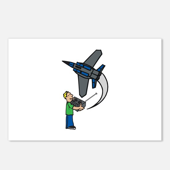 RC Airplane Postcards (Package of 8)