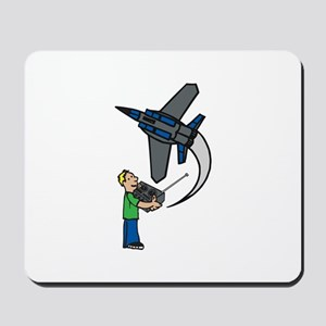 RC Airplane Mousepad