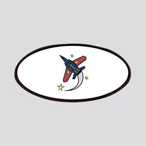 Flying Jet Plane Patches