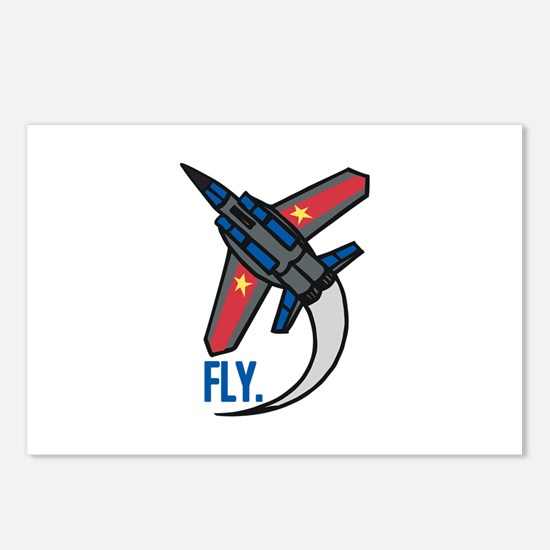Fly Postcards (Package of 8)