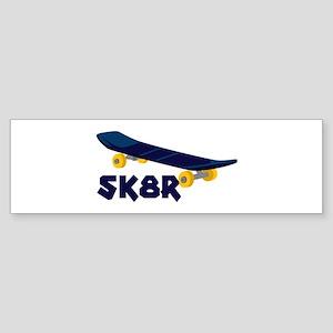 SK8R Bumper Sticker