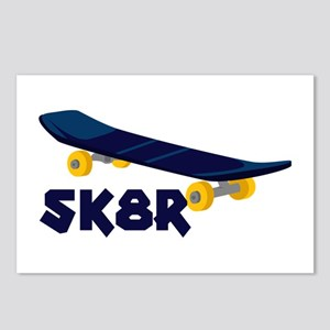 SK8R Postcards (Package of 8)
