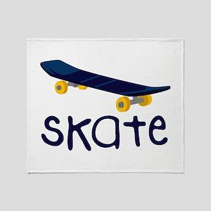Skate Throw Blanket