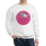 Eggs nuts & dairy-pink Sweatshirt