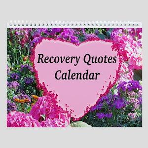 Flowers Recovery Wall Calendar