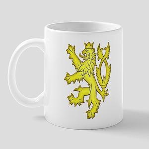 Heraldic Gold Lion Mug