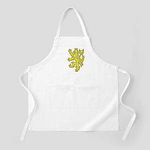 Heraldic Gold Lion BBQ Apron
