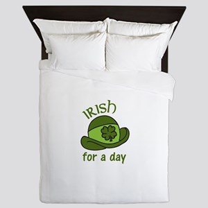 Irish for a Day Queen Duvet