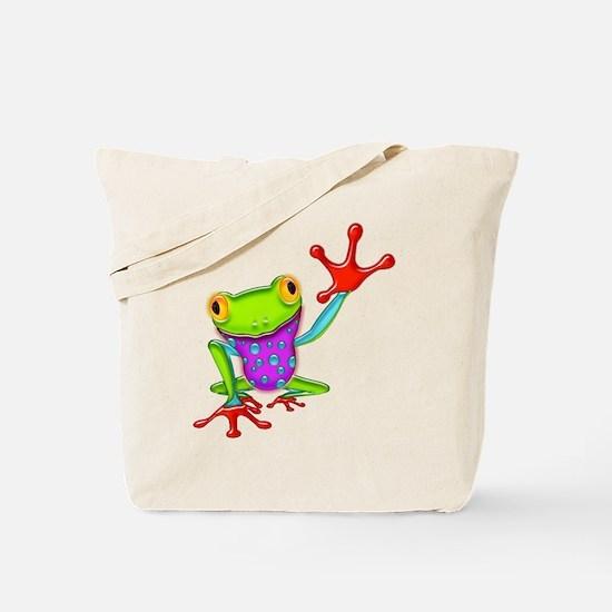 Funny Reptile Tote Bag