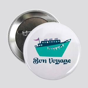 """Bon Voyage 2.25"""" Button"""