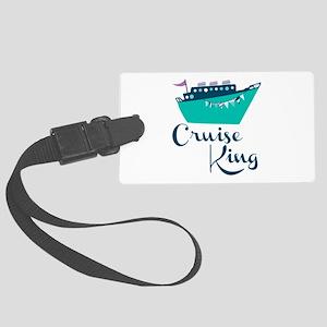 Cruise King Luggage Tag