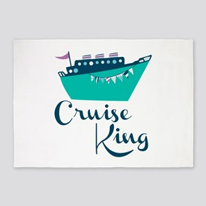 Cruise King 5'x7'Area Rug