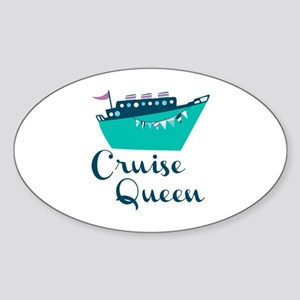 Cruise Queen Sticker