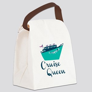 Cruise Queen Canvas Lunch Bag