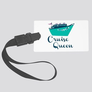 Cruise Queen Luggage Tag