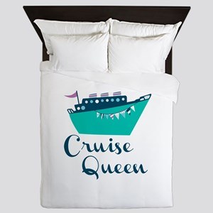 Cruise Queen Queen Duvet