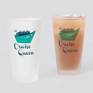 Cruise Queen Drinking Glass