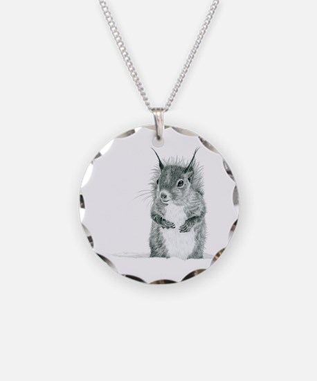 Funny Animals Necklace Circle Charm